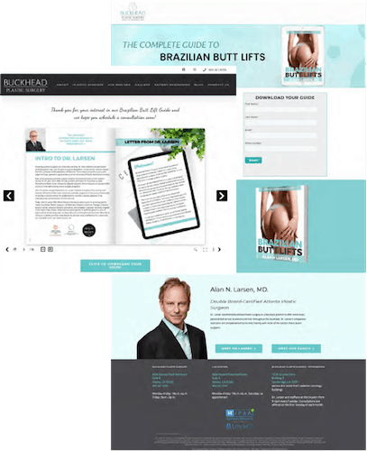 Close Phase Inbound Marketing Landing Page Thank You Page Example